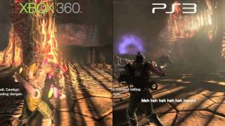 NeverDead PS3 vs 360