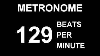 �������� ���� METRONOME 129 BPM (BEATS PER MINUTE) ������
