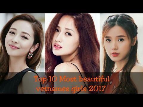 Top 10 Most beautiful vietnamese girls in 2017