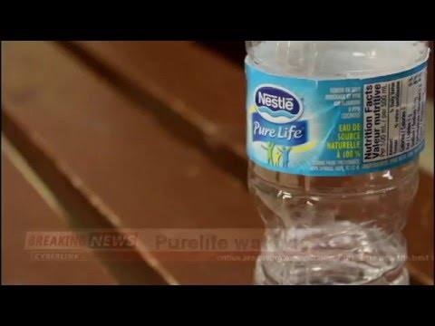 official purelife water commercial