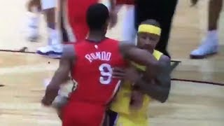 Isaiah Thomas & Rajon Rondo Get Ejected After FIGHTING Over Celtics Tribute Video