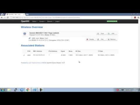 Create wifi repeater using openwrt device