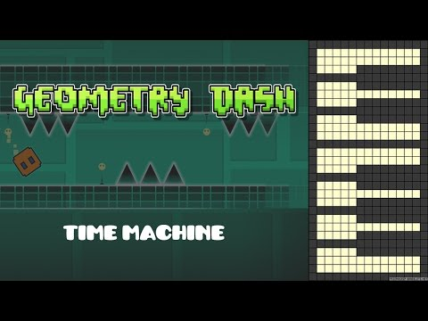 geometry dash time machine song