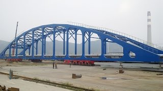 TrailerHome - SPMT 600t Bridge Section china heavy equipment / china heavy transport