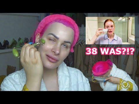Ich reagiere auf: 38 Schritte Beauty Routine! 38!?!?