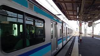 【慌てて撮影】E231系800番台K7編成@西荻窪