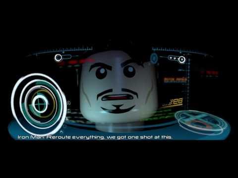 Stan Lee Lifts Thors Hammer | Ultron Final Cut Scene LEGO Marvels Avengers (1080p)