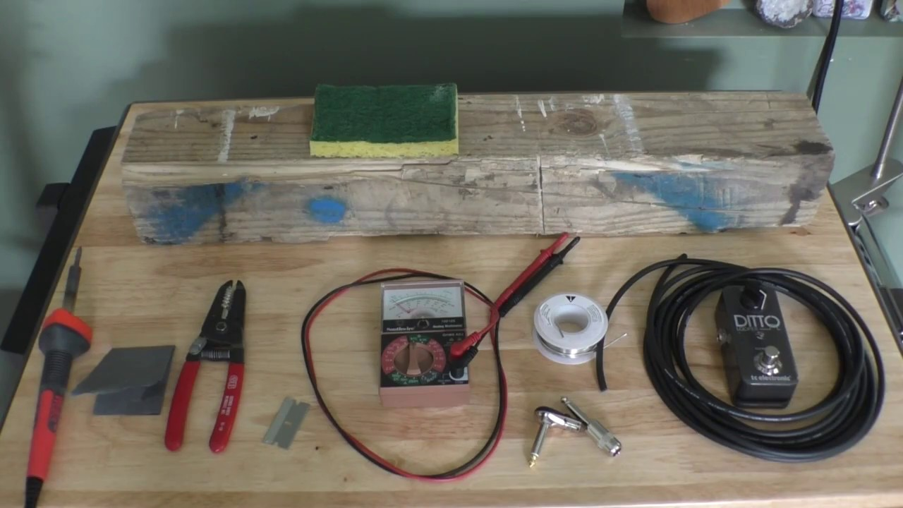 Soldering Pedal Board Patch Cables And Guitar Youtube Pedalboard Wiring Kit