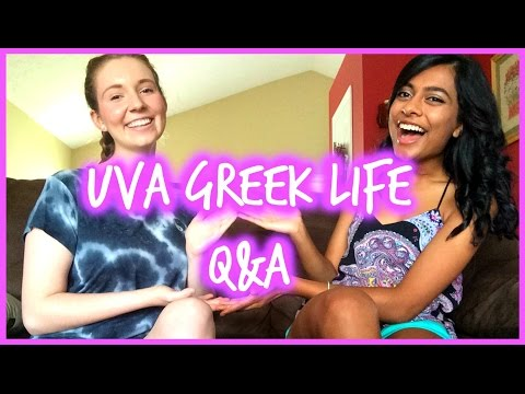 UVA Greek/Sorority Life Q&A || TheEkaShow