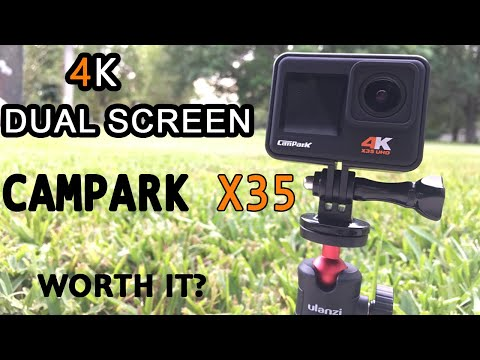 Campark X35 Dual Screen Action Camera Review