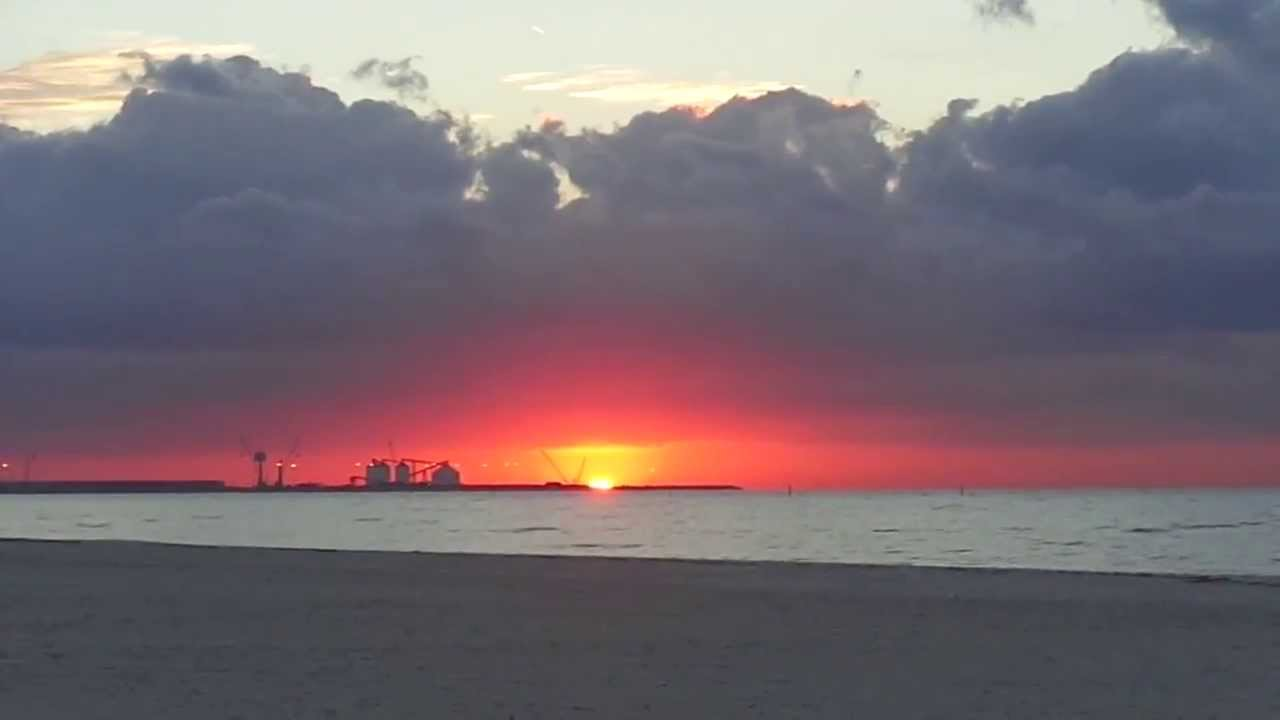 Sunrise In Long Beach Mississippi Youtube