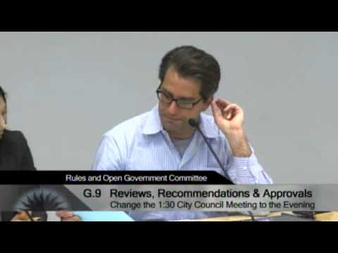 04/17/13 - San Jose City Hall - Rules & Open Government Committee