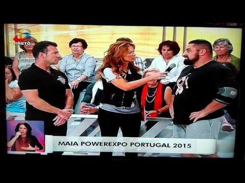 Você na TV exibição de Strongman Portugal 2015