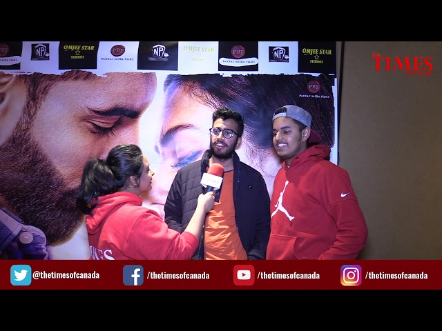 Jinde Meriye Grand Premiere | Parmish Verma with his fan followers