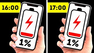 Почему 1 % заряда аккумулятора телефона может хватать очень надолго