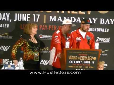 Team Kovalev's Kathy Duva livid after TKO loss to Ward, sounds off at post-presser