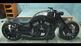 Карбоновый Harley-Davidson VRSCAW кастом байк от компании ГАЗкастом