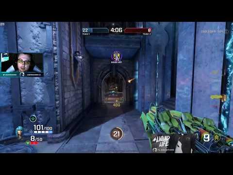 Dahang playing 2v2 as Nyx Quake Champions