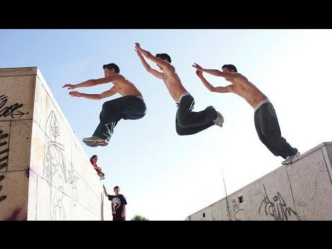 Motivation Parkour and Freeruning.