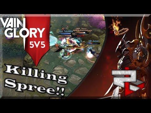 3.4 Vainglory 5v5 Ranked: Jungle WP Lance: Chunking People Down!!