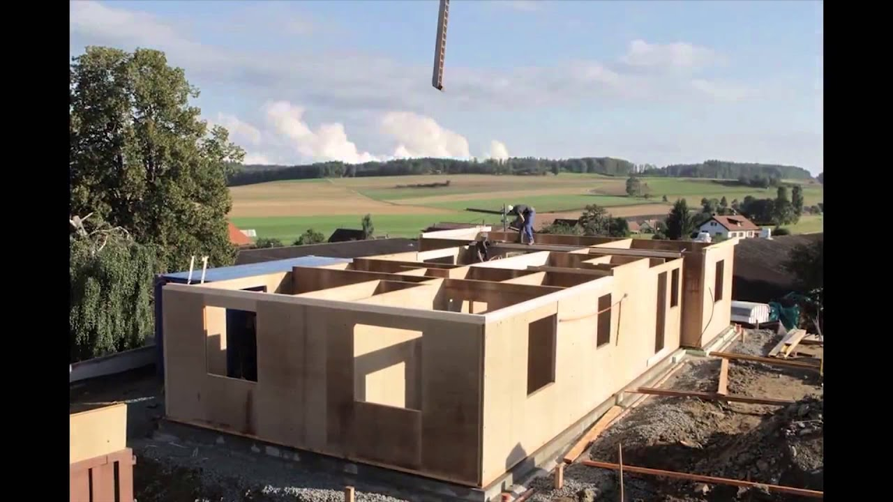 Construcci n de una casa en 5 d as youtube for Modelos de casa para construccion