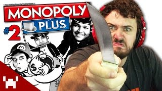 FIGHT FOR THE FIRST MONOPOLY! (Monopoly Plus w/ The Derp Crew - Game 5: Part 2)