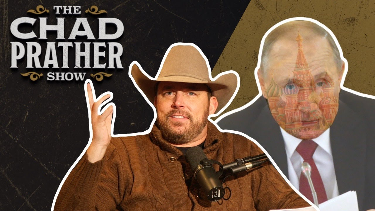 Vladimir Putin Vows to Rule Russia FOREVER | Ep 205 - Chad Prather