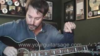 Tune Your Guitar by Ear - How To - Easy Tuning Guitar Lesson