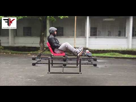 World Smallest flying car Prototype (Gravity X) Also check out the Version2