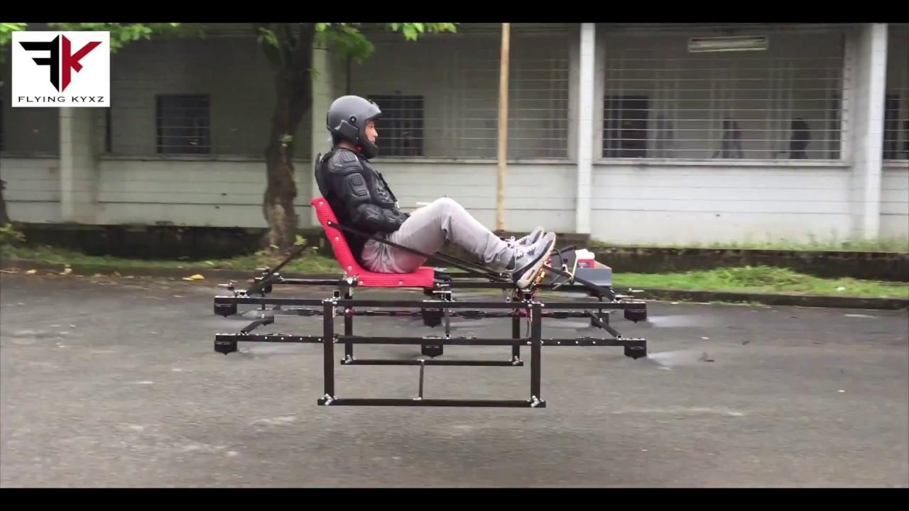 Как собрать летающий скейтборд у себя дома?