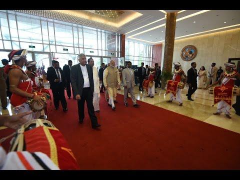 PM Modi at Opening Ceremony of International Vesak Day in Colombo, Sri Lanka