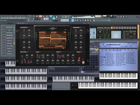 Bryan Adams - Thought I'd Died and Gone to Heaven (FL Studio cover)