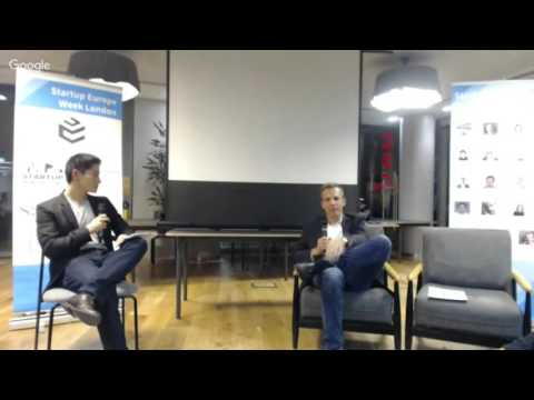 Startup Europe Week London - Day 4: UK Investment Landscape