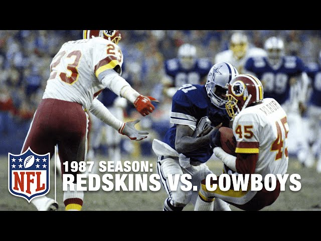 #7 Redskins Replacement Players Knock Off the Cowboys | NFL Films | Top 10 Upsets
