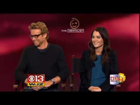 CBS Baltimore  Coffee With: Simon Baker & Robin Tunney Nov, 2013
