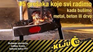 5 grešaka koje svi radimo kada bušimo metal, beton ili drvo