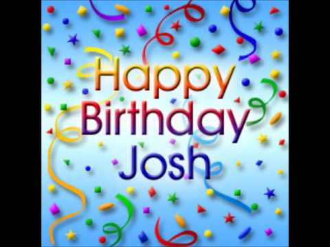 Happy Birthday Joshua Cake