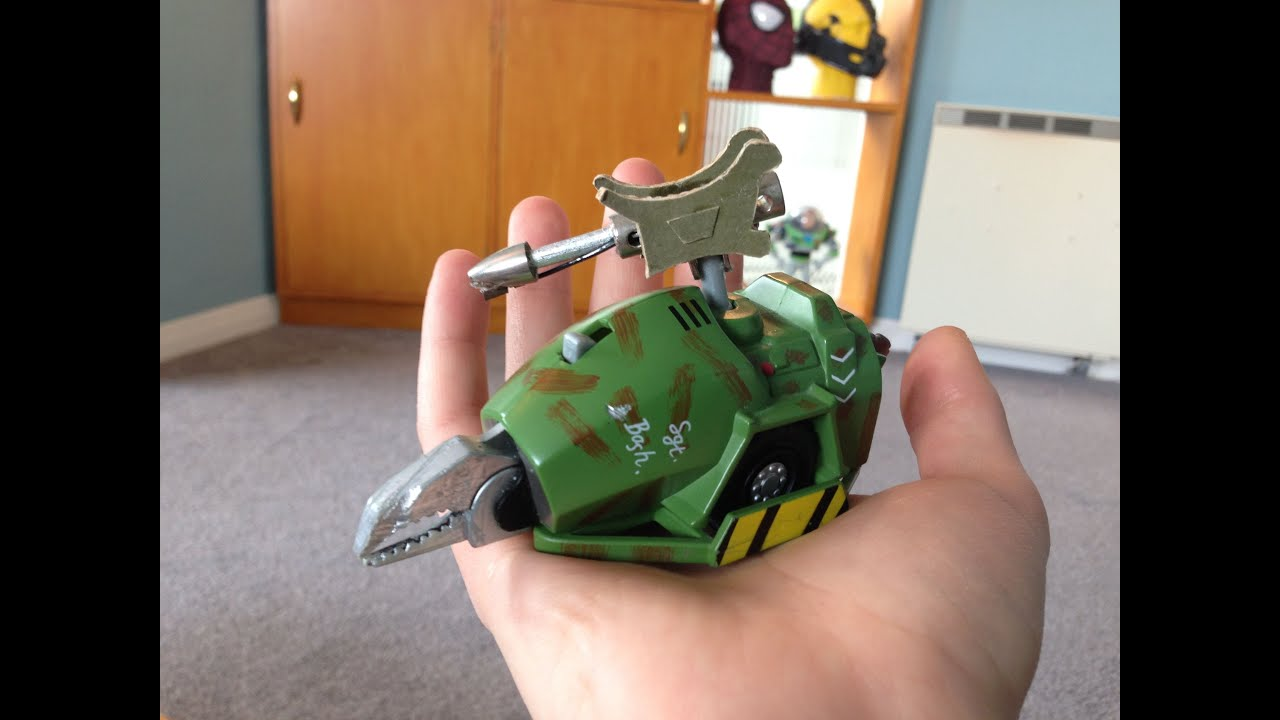 A look back at my Robot Wars toys