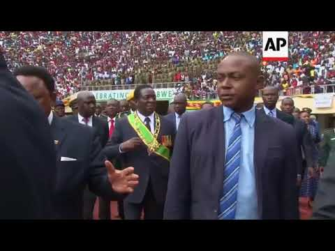 Zimbabweans celebrate Independence Day with Mugabe as leader