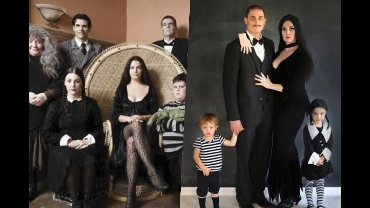 Disfraces de la familia Addams YouTube
