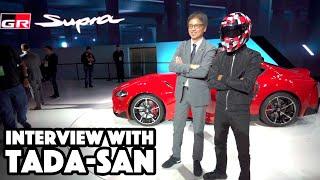 Meeting the New Supra's Chief Engineer - Tetsuya Tada