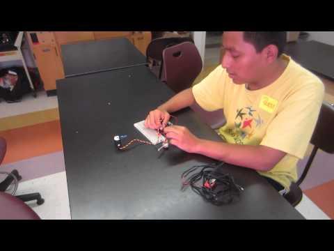 Luis's Robotic Arm Milestone 1