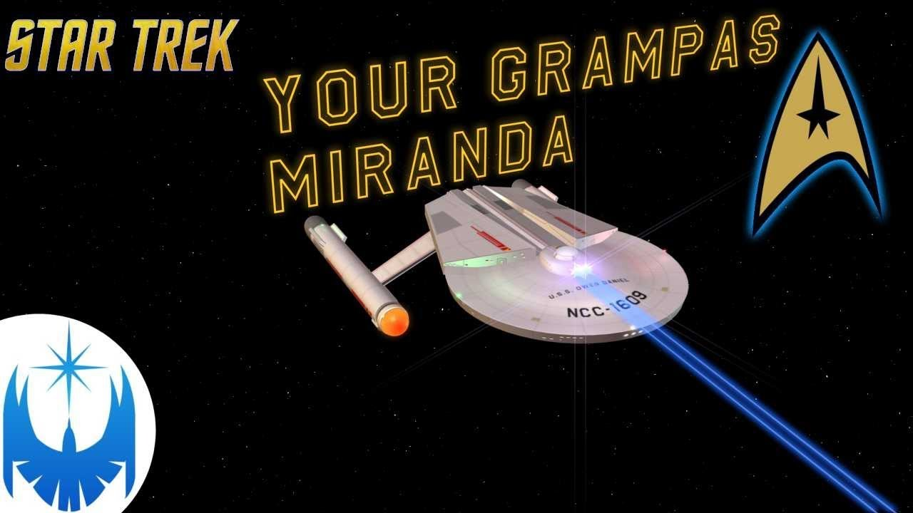 The Miranda's Precursor Explained - FASA's Anton Class