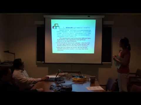Shiqing Liu, Ningbo University, China - May 6, 2011