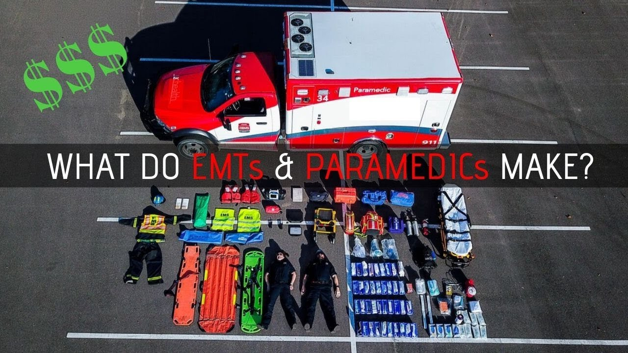 How Much Does An Emt Make >> How Much Does A Emt Paramedic Make