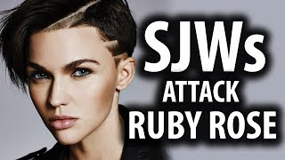 SJWs Attack Batwoman Actress Ruby Rose