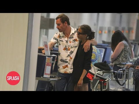 First Video of Newlyweds Michael Fassbender and Alicia Vikander  Daily Celebrity   Splash TV