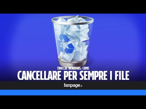 Eliminare Definitivamente File E Cartelle In Windows