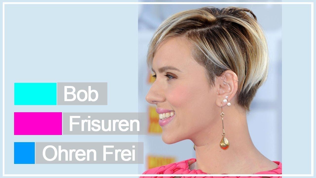 Bob Frisuren Ohren Frei