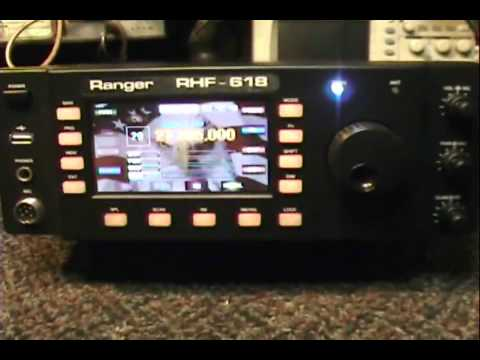 Review Of The Ranger RHF-618 10-12 Meter Base Radio Part 1